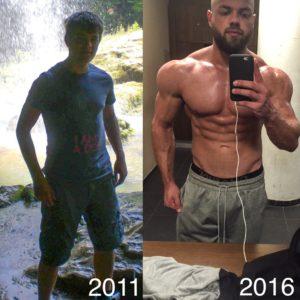 Naturel Body Transformation Stefan Lamers