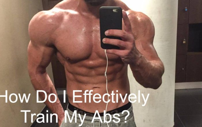 How do I effectively train my Abs?
